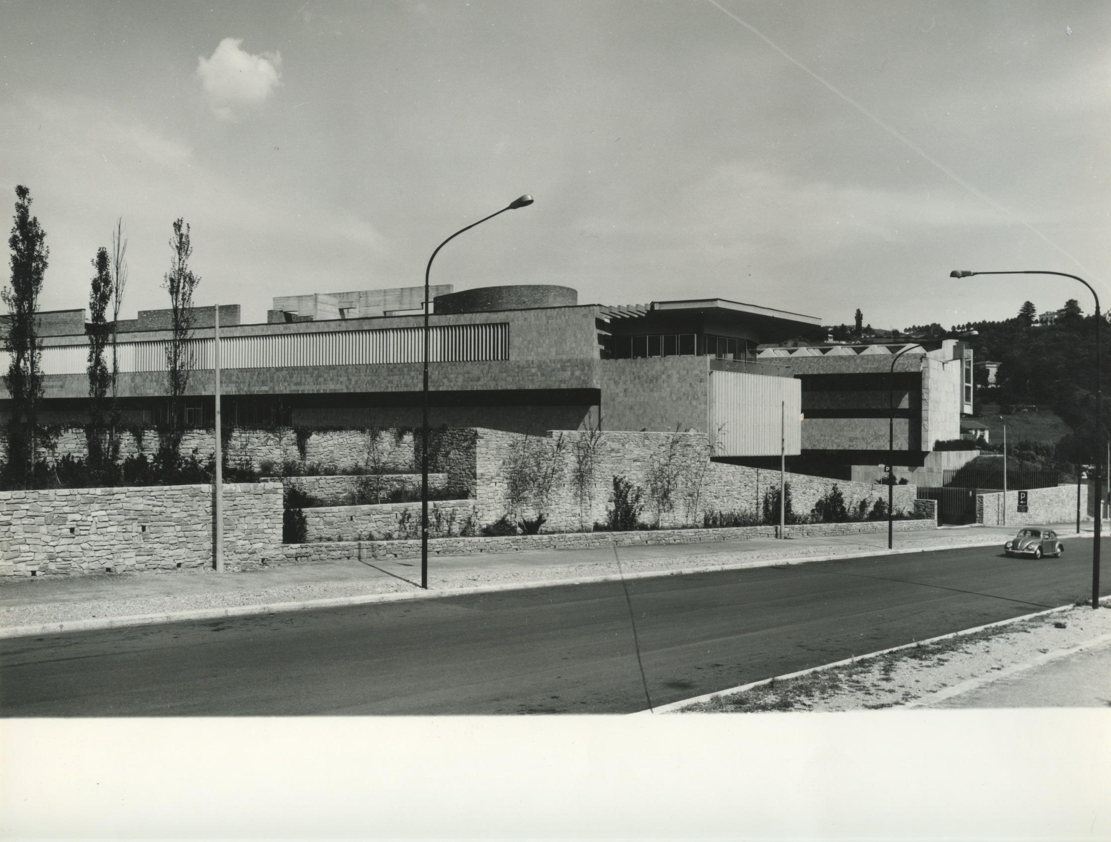 esterno Museo anni _60