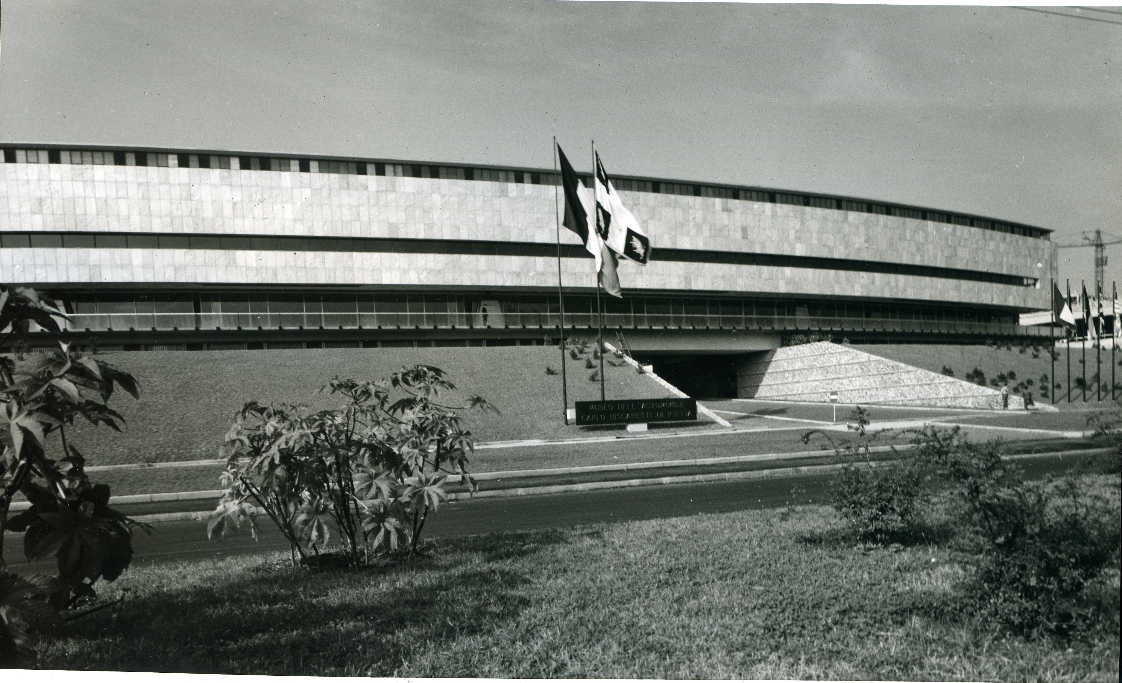 facciata Museo anni _60