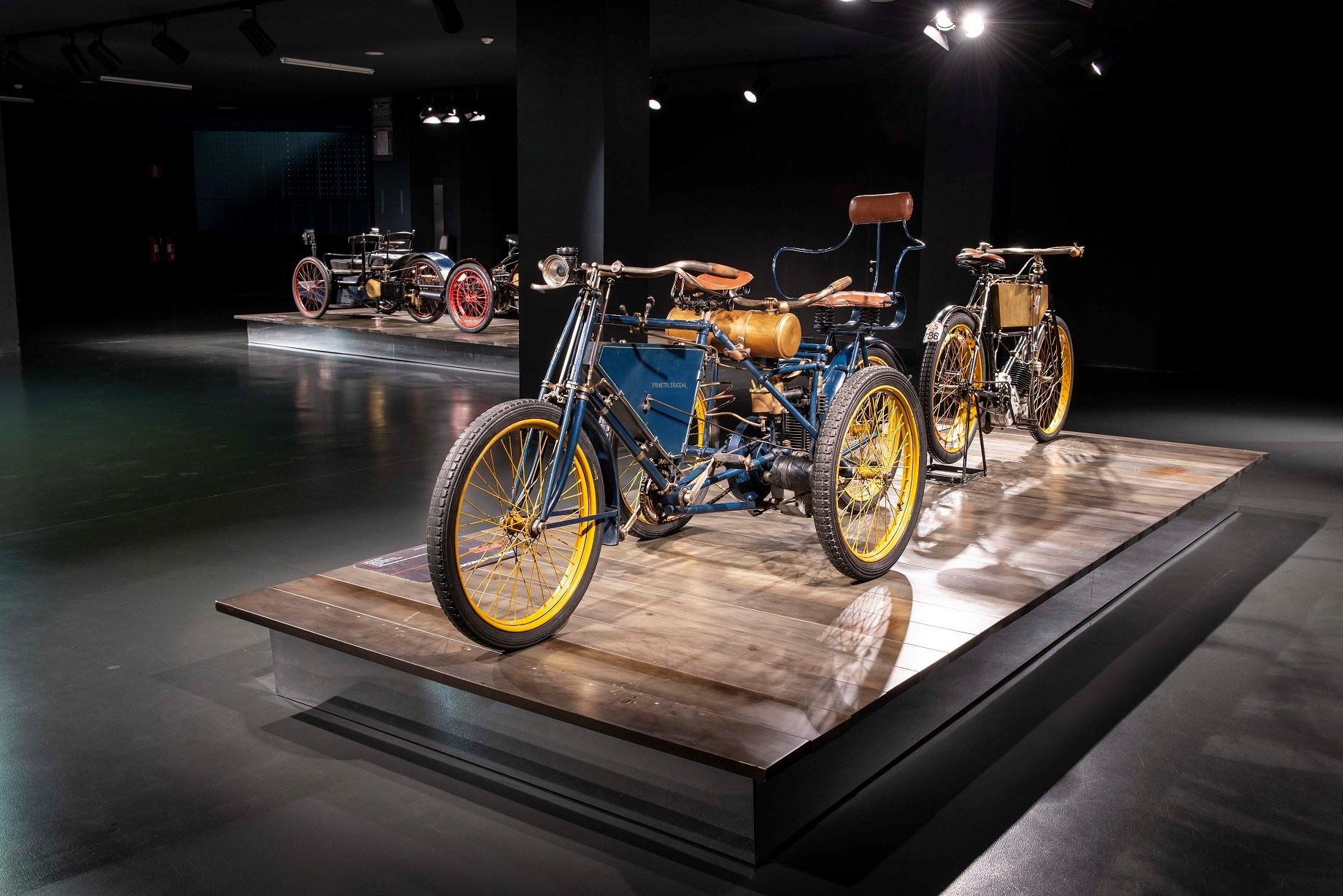 In esposizione dopo oltre 15 anni alcuni motocicli della collezione del museo.