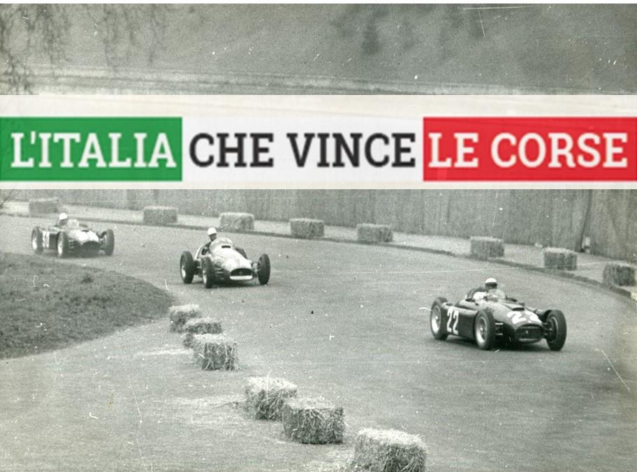 L'ITALIA CHE VINCE LE CORSE - La Lancia D50 del 1955
